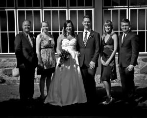 Former CUP staffers at our wedding in September, 2011.